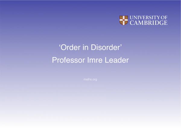 Imre Leader title credit image