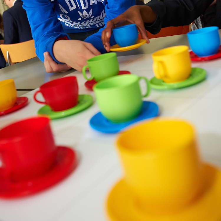 NRICH Roadshow activity - Teacups