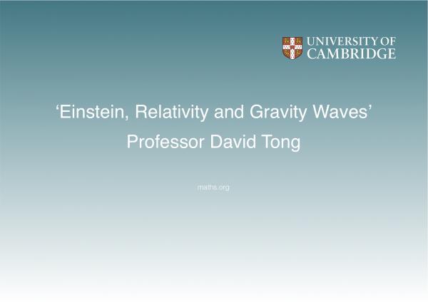 David Tong title credit image